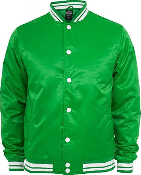 Green Urban Classics College Jacket