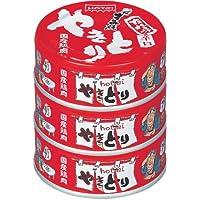 ホテイ やきとりたれ味辛口 3缶シュリンク 85g×3個