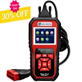 wsiiroon Professional OBD2 Scanner, Car Engine Fault Code Reader CAN Diagnostic Scan Tool with I/M Readiness(Upgraded SR850)