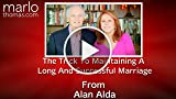The Trick To Maintaining A Long And Successful Marriage...