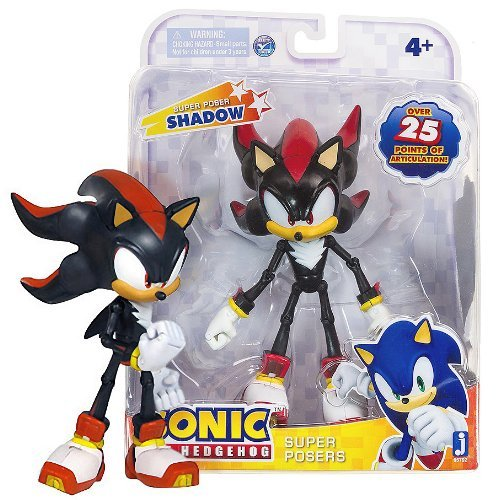 "Shadow: Super Posers Sonic The Hedgehog ~7"" Action Figure Series"