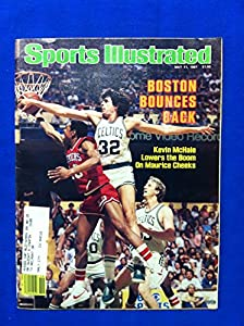 1981 Sports Illustrated May 11 Kevin McHale Boston Celtics Excellent