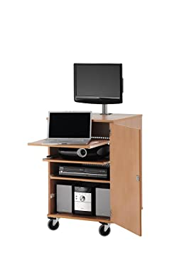 HOPCO Multimedia Projector Cabinet with fully adjustable shelves (supplied flat pack)