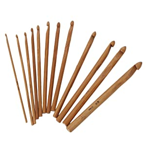 20Pcs Crochet Hooks Knitting Needles Set with Case