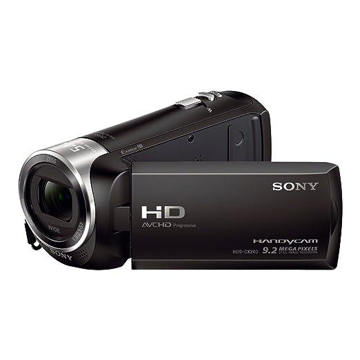 HDR-CX240 Camcorder Black FHD MicroSD