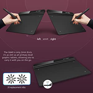 XP-Pen G640 6 x 4 inch Graphic Drawing Tablet/Pen Tablet for