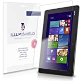 iLLumiShield - Asus Transformer Book T100 Screen Protector Japanese Ultra Clear HD Film with Anti-Bubble and Anti-Fingerprint – High Quality (Invisible) LCD Shield – Lifetime Replacement Warranty – [2-Pack] OEM / Retail Packaging (Color: Clear)