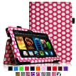 "Fintie Amazon Kindle Fire HDX 7 Folio Case Cover - Auto Sleep/Wake (will only fit Kindle Fire HDX 7"" 2013), Polka Dot"