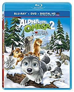 Alpha & Omega 2: A Howl-iday Adventure [Blu-ray + DVD + Digital HD]
