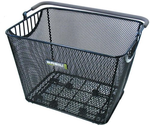 Bell Basil Cesa Luxe Rear Bicycle Basket, Black
