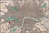 42x63 Poster; 1862 Reynolds Pocket Map Of London, England