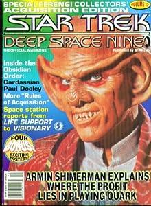 STAR TREK DEEP SPACE NINE Official Magazine #12 Armin Shimerman +