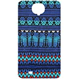 Fabric Tribal Pattern Back Cover Case For Samsung Galaxy S4 / SIV / I9500