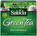 Salada Green Tea - Soothing Mint 40ct (Case of 6 boxes) by Redco Foods