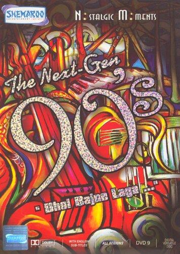 The Next-Gen 90's Nostalgic Moments Hindi Film Songs DVD