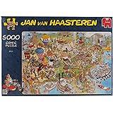 Jumbo 17316 - Jan van Haasteren - USA Puzzle, 5000 Teile
