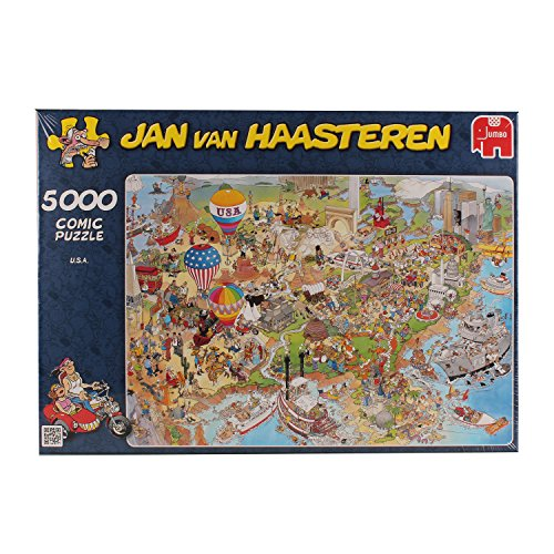 Jan van haasteren usa jigsaw puzzle 5000 pieces ebay for Custom 5000 piece puzzle
