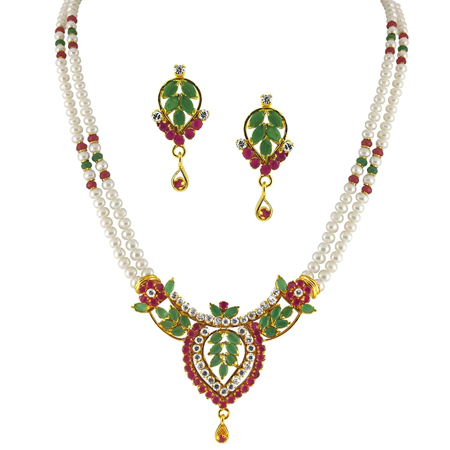 Jewellery : Sri Jagdamba Pearls low price