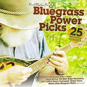 Bluegrass Power Picks, 25 Mountain Classics, Bluegrass cd