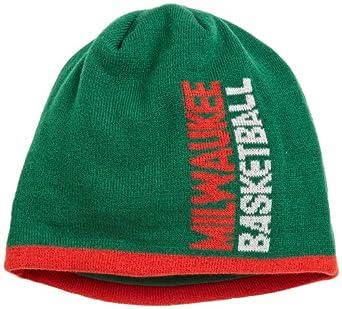 NBA Authentic Team Knit Hat - Ke98Z, Milwaukee Bucks, One Size , Milwaukee Bucks ,... by adidas