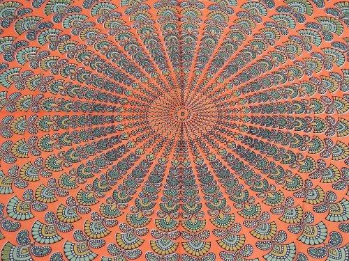 Peacock Print Bedding Set front-134130