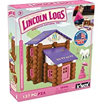 Lincoln Logs Country Meadow Cottage 137 Pieces Preschool Education Toy