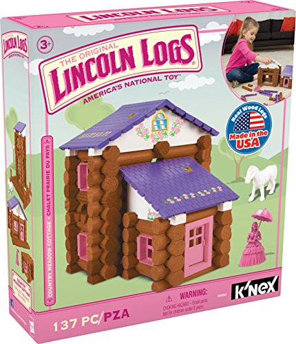 New Lincoln Logs Country Cottage Building