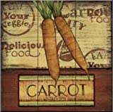 The Tile Mural Store - Poster Carrots by Charlene Audrey - Kitchen SplashBack / Bathroom wall Tile Mural