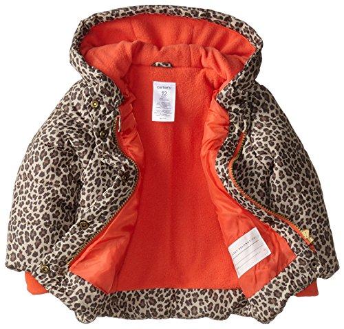 Carter's Baby Girls' Heavyweight Single Jacket, Cheetah, 24 Months
