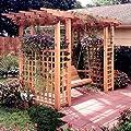 Garden Arbor Getaway: Downloadable Woodworking Plan from Meredith Corporation