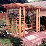 Garden Arbor Getaway: Downloadable Woodworking Plan