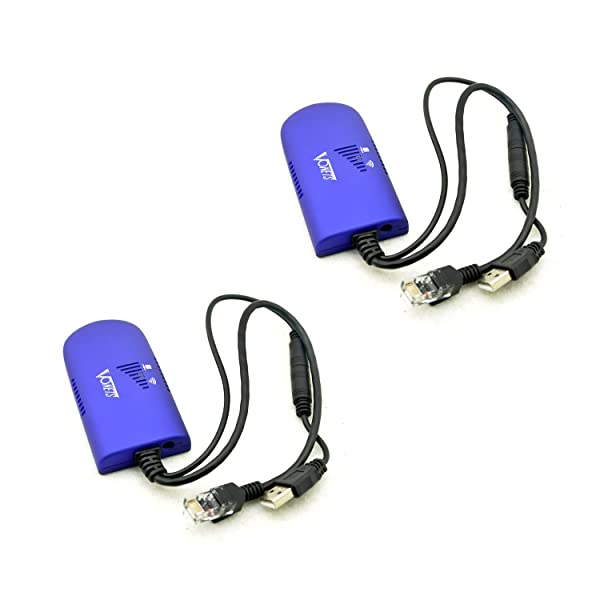 [2 Pack ] Upgrade VONETS VAP11G-300 Wireless Wifi Bridge Dongle Wireless Access Points AP for Dreambox Xbox PS3 Network Printer Router ADSL IP Camera (Support Microsoft Windows Linux MAC OS) (Color: 2Pack)