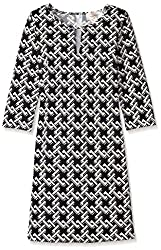 JB by Julie Brown Women's Kole Sheath Dress, Black/White, XL