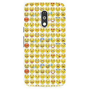 Back Cover for Moto G Plus (4th Gen) Smiley