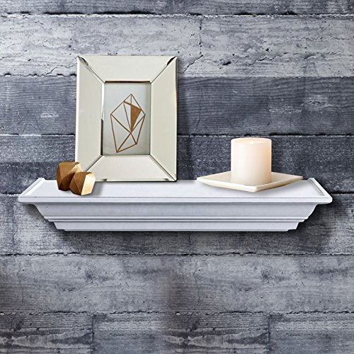 Shelving Solution Level Line Wall Shelf White With 2