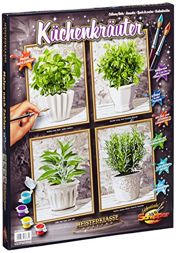 Schipper Culinary Herbs Paint-by-Number Kit