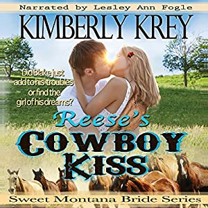 Reese's Cowboy Kiss: Witness Protection Audiobook