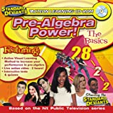 Standard Deviants Action Learning CD-ROM: Pre-Algebra Power (Jewel Case)