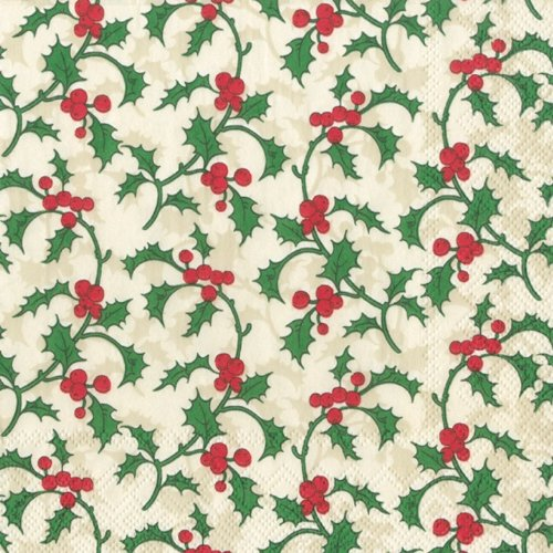 ideal-home-range-vintage-holly-luncheon-napkins-cream-and-green-20-pack