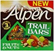 Alpen Fruit & Nuts Trail Bar 48g x 3 (Pack of 11, 33 bars in total)