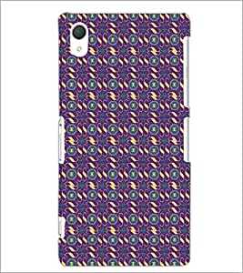 PrintDhaba Pattern D-5306 Back Case Cover for SONY XPERIA Z2 (Multi-Coloured)