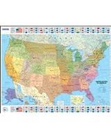 Michelin USA Political Map 1/3 850 000