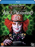 Alice In Wonderland (Four-Disc Combo: Blu-ray 3D / Blu-ray / DVD / Digital Copy) by Walt Disney Studios Home Entertainment