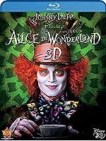 Alice In Wonderland (Four-Disc Combo: Blu-ray 3D / Blu-ray / DVD / Digital Copy) by Walt Disney Studios Home Entertainment
