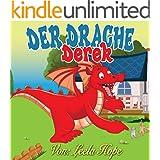 Kinderb�cher:Der Drache Derek (Buch f�r Kinder Kinderb�chersammlung 1)