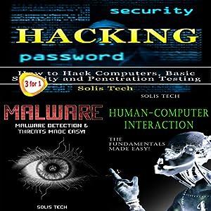 Hacking + Malware + Human-Computer Interaction Audiobook