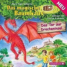 Das Tor zur Dracheninsel (Das magische Baumhaus 52) Hörbuch von Mary Pope Osborne Gesprochen von: Stefan Kaminski