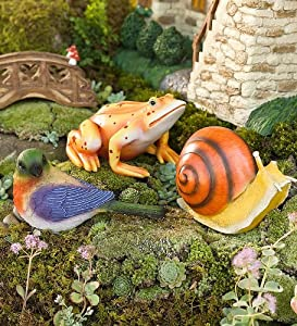 HearthSong Decorative Fairy Friends, Set of 3