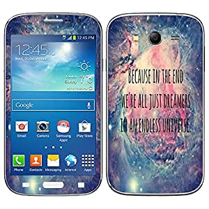 Theskinmantra Endless Universe Samsung Galaxy Grand Neo Plus mobile skin