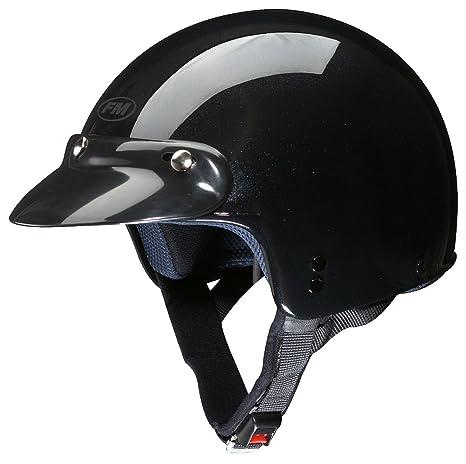 FM rS11110L rS11P peak casque jet taille l (61-62 cm (noir)